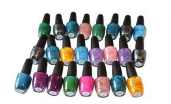 25 x OPI Nail Lacquer  | Mixed shades | RRP over £300 | Wholesale